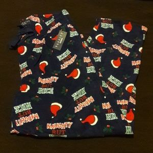 Varsity sleepwear pajama pants.